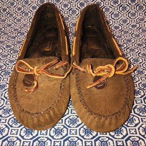 Coach Antonia Slippers Brown